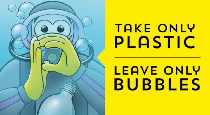 P for Plastics.